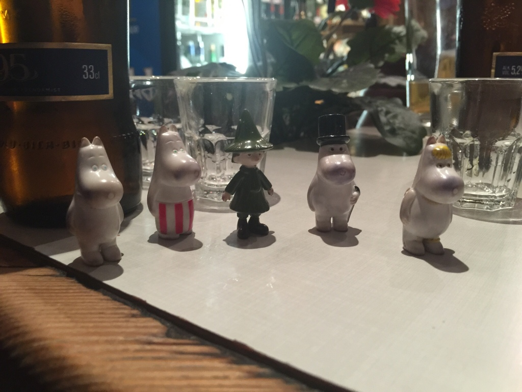 Kris's Moomins on tour in Tallinn