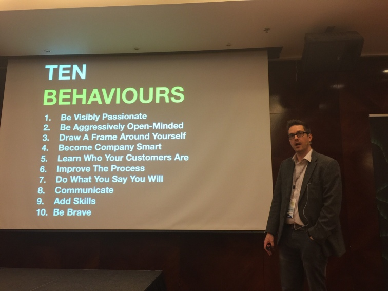 Ten Behaviours - with Rob Lambert