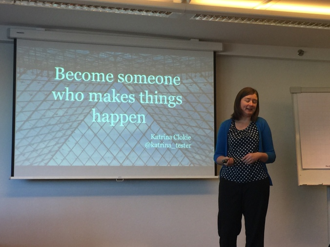 Katrina Clokie - Becoming someone who makes things happen