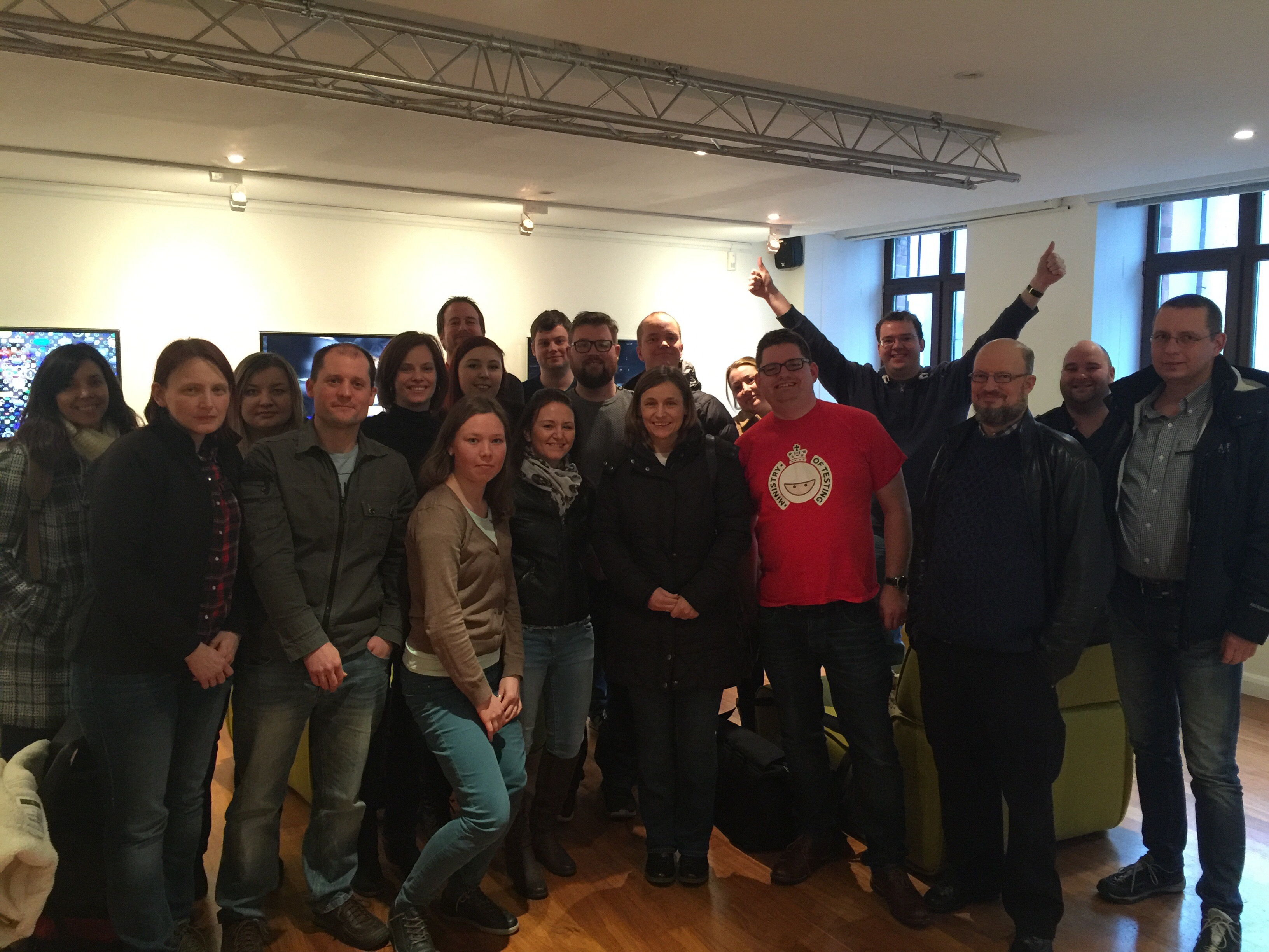 Rapid Software Testing  Alumni - March 2016