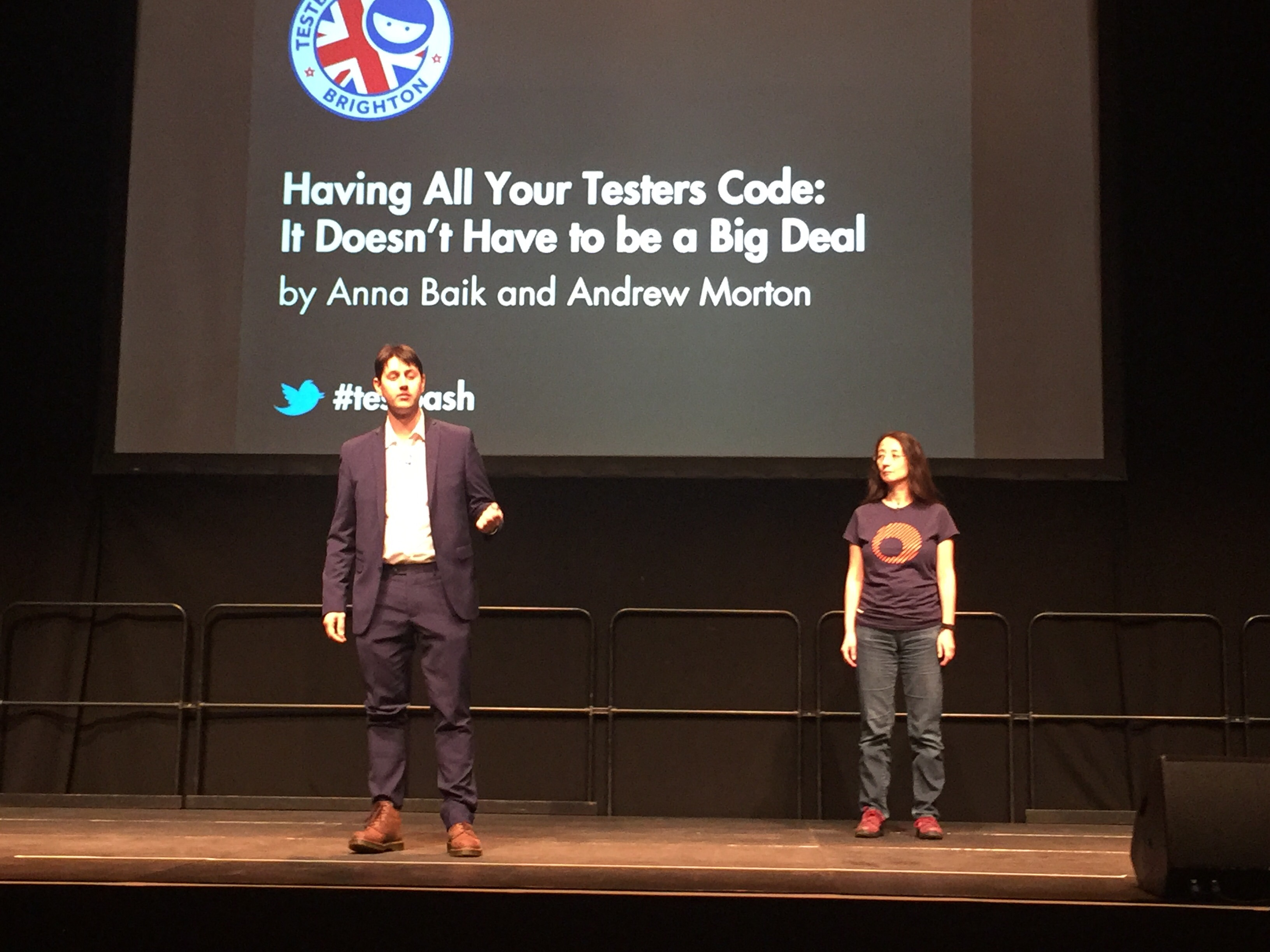 Anna Baik and Andrew Morton
